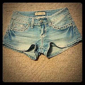 YMI Jean's short shorts